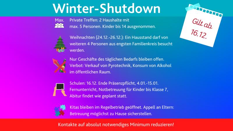 Shutdown Rheinland Pfalz